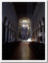 Pistoia, Catedral, nave central