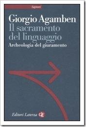 Agamben, Il sacramento del linguaggio