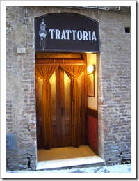 Siena, Trattoria La Torre de Siena 3