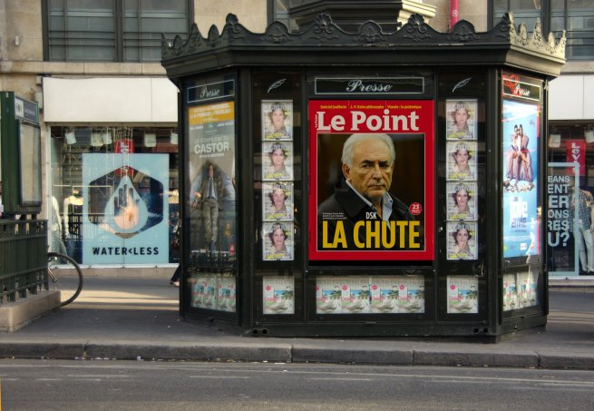 Le Point, La Chute (Dominique Strauss-Kahn)