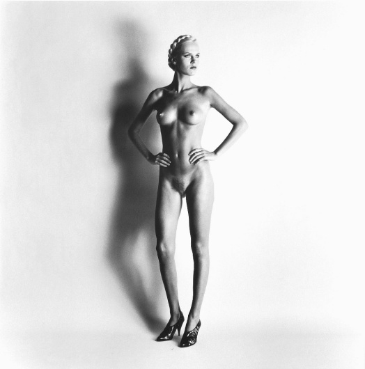 Big Nude I (Lisa, Paris), 1980, Helmut Newton.